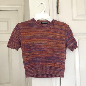 American Apparel short sleeve sweater
